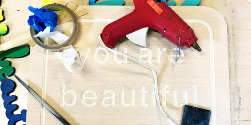 Decorate Your Own DIY YAB Board - You Are Beautiful Workshop