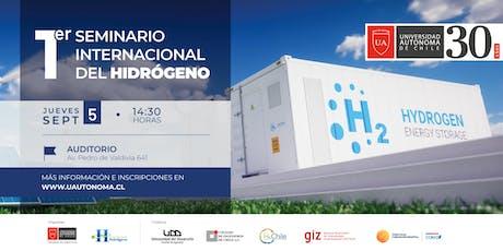 Seminario Internacional de Hidrógeno entradas