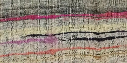 Saori Weaving Taster Session2/ London Open House Weekend at Craft Central