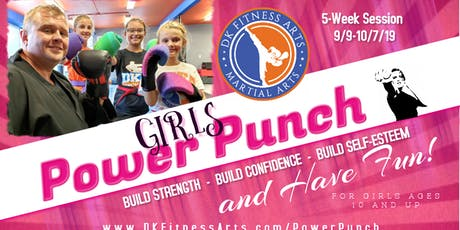 Girl's Power Punch tickets