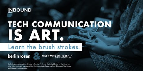 INBOUND - Tech Communication is Art. Learn the Brush Strokes. tickets
