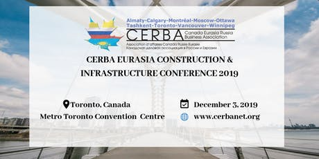 CERBA Eurasia Construction and Infrastructure Conference 2019 tickets