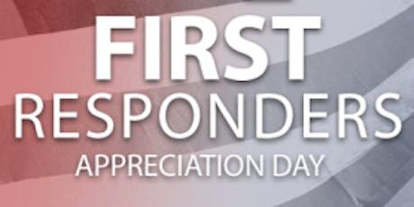 First Responder Appreciation tickets