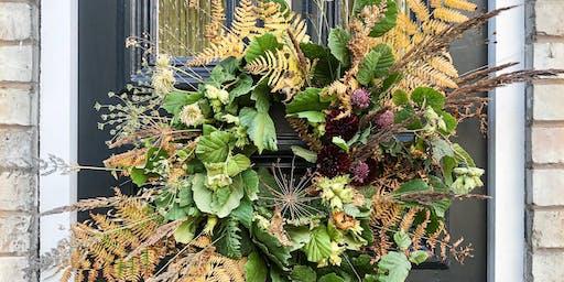 Autumnal Wreath Making