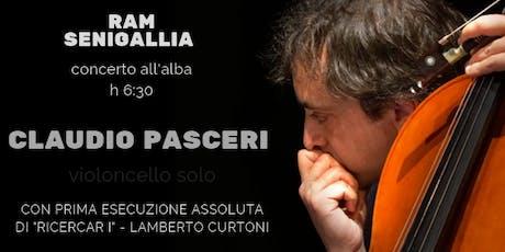 Claudio Pasceri - Concerto per violoncello solo biglietti