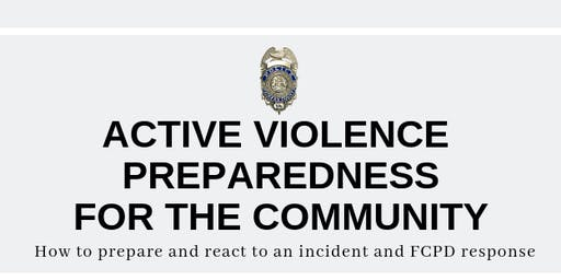 Active Violence Preparedness for the Community