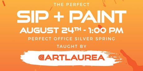 The Perfect Sip & Paint tickets