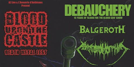 Blood Upon The Castle - Death Metal Fest Tickets