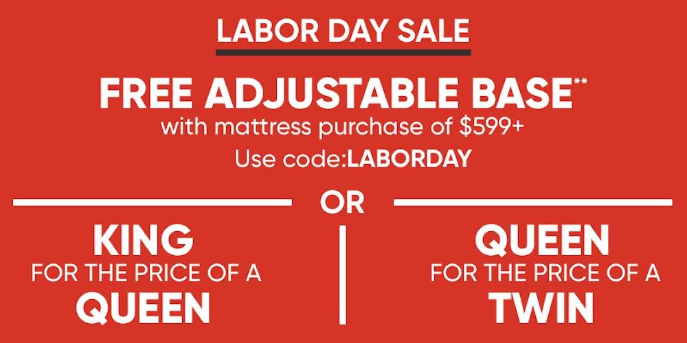 Mattress Firms Labor Day Sales Event Starting Now Tickets Fri Aug