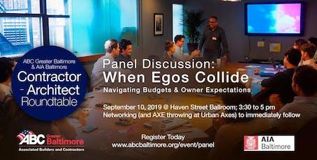 ABC Greater Baltimore & AIA Baltimore Present: 'When Egos Collide!' tickets