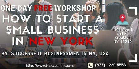 How To Start A Small Business in New York, United States tickets