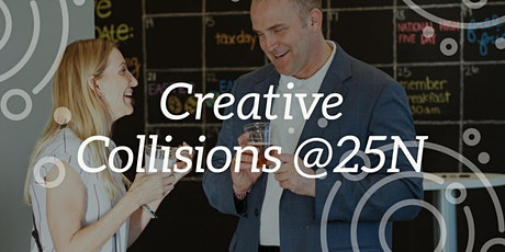Creative Collisions: Speed Networking @25N Coworking Arlington Heights tickets