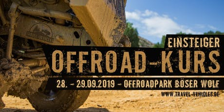 Offroad Kurs - Einsteiger - 2WD und 4WD Tickets