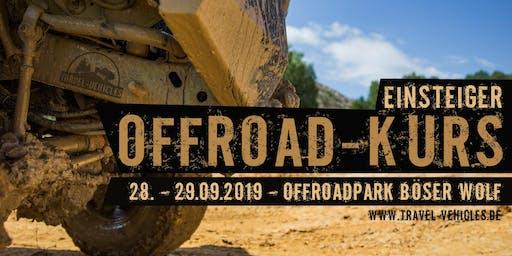 Offroad Kurs - Einsteiger - 2WD und 4WD