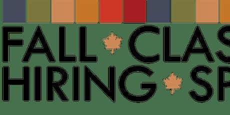 Fall Classic Employer Registration billets