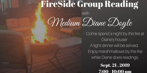 Fireside Group Reading with Medium Diane Doyle