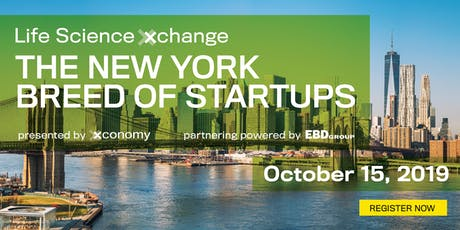 Xconomy's Life Science Xchange: The New York Breed of Startups tickets