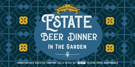 Estate Beer Dinner tickets