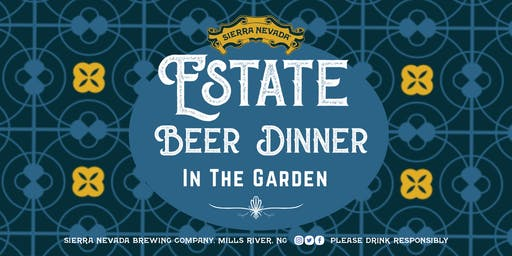 Estate Beer Dinner