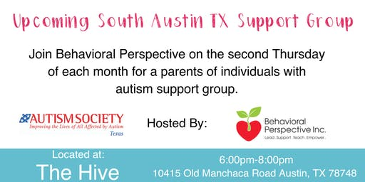 Upcoming South Austin Parent Support Group