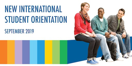 St.James Campus: New International Student Orientation (September 2019 Intake Students)