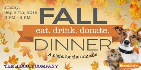 Thomasville Thomas County Humane Society Fall Dinner tickets