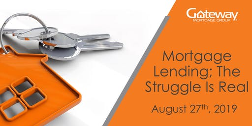 Mortgage Lending; The Struggle Is Real | FREE Realtor CE Course