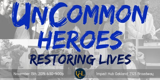 UnCommon Heroes 2019 - Restoring Lives