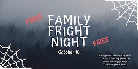 Family Fright Night tickets