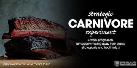 Strategic Carnivore Kickoff tickets