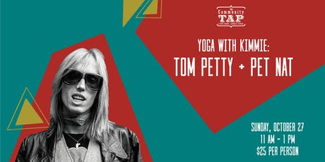 Yoga and Wine Tasting with Kimmie: Tom Petty & Pet Nat tickets