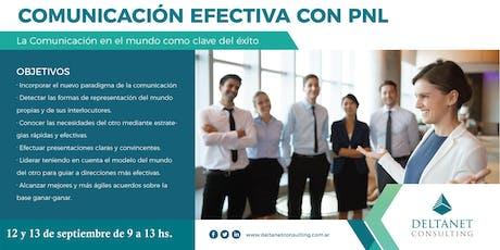 Comunicación Efectiva con PNL  entradas
