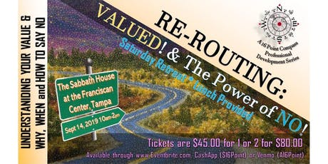 Re-Routing: VALUED and The Power of NO! tickets