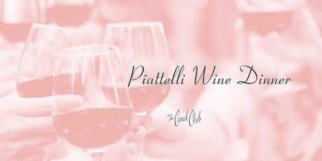 Piattelli Wine Dinner tickets