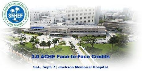 SFHEF Educational Seminar - Sept. 7!  tickets