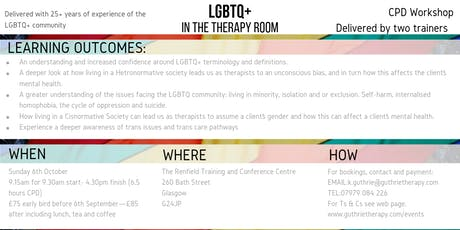 LGBTQ+ in therapy tickets