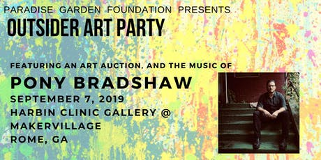 Outsider Art Celebration with Art Auction and Pony Bradshaw tickets