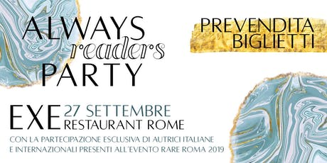 Always Readers Party biglietti