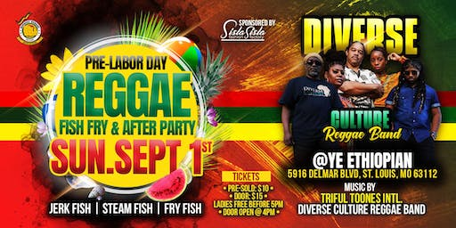 Reggae Fish Fry & After Party
