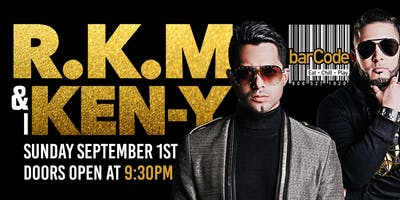 RKM y KEN Y PERFORMING LIVE @barCode
