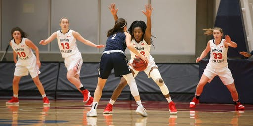 SFU WOMEN'S BASKETBALL vs. Western Washington University
