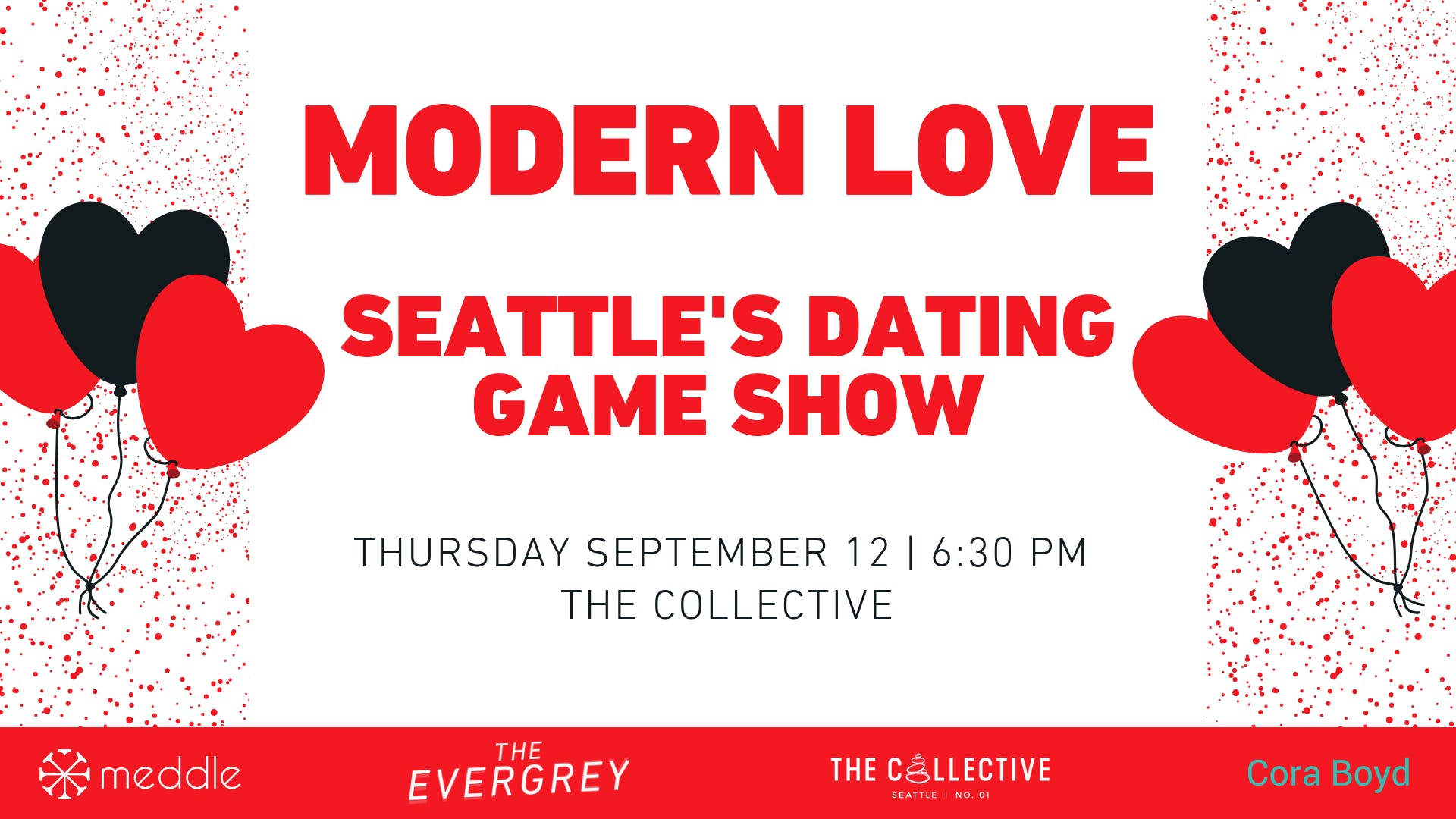 Modern Love: Seattle's Dating Game Show banner