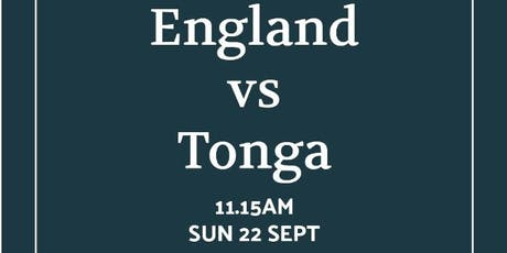 Rugby World Cup 2019 - England v Tonga tickets