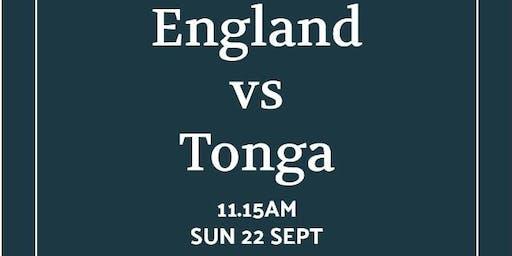 Rugby World Cup 2019 - England v Tonga