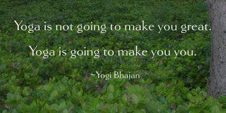 Kundalini Yogaand Meditation in the Woods tickets