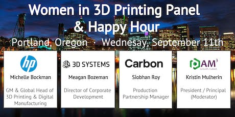 Future of 3D Printing - Expert Panel & Happy Hour tickets
