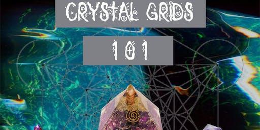 Magickal Minerals - Crystal Grid Workshop
