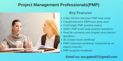 PMP Training in Carmel-by-the-Sea, CA
