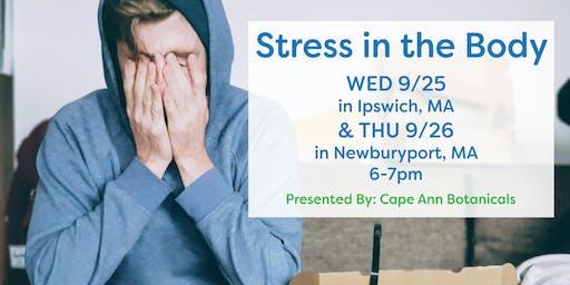 Stress in the Body: Newburyport, MA