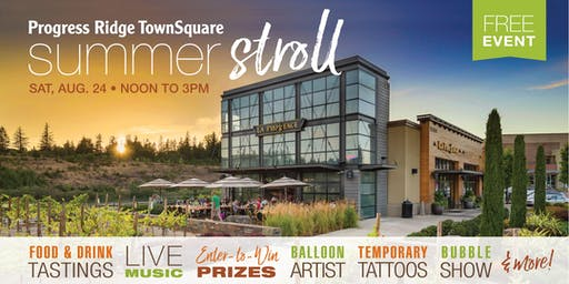 Summer Stroll Event at Progress Ridge TownSquare